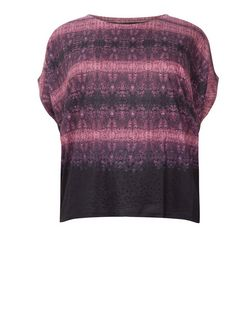 Samya Pink Tie Dye Embellished Top | New Look