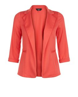 Teens Coral Blazer | New Look
