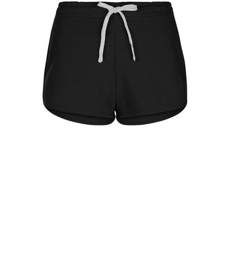 Black Runner Shorts  | New Look