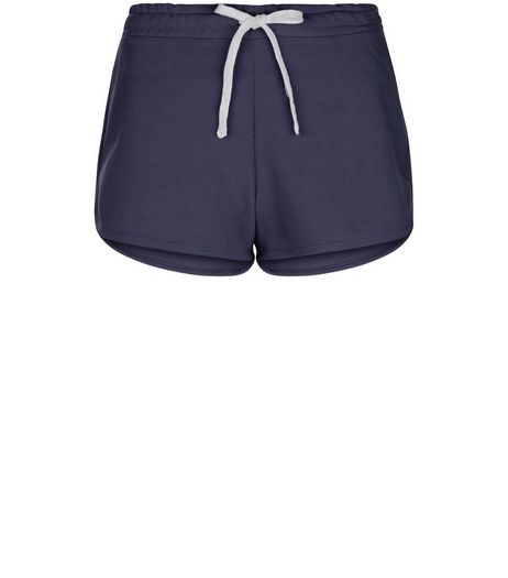Navy Runner Shorts  | New Look