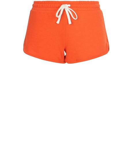 Orange Runner Shorts | New Look