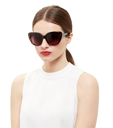 Brown Tortoiseshell Cat Eye Sunglasses | New Look