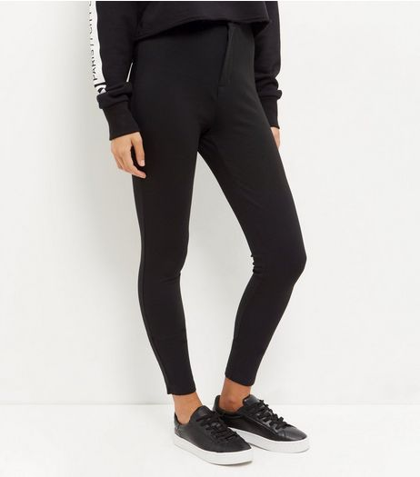 Black High Waisted Leggings | New Look