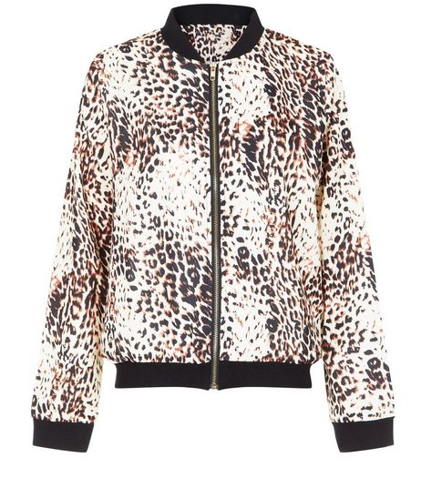 Jumpo Brown Leopard Print Jacket | New Look