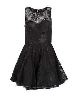 AX Paris Lace Skater Dress | New Look