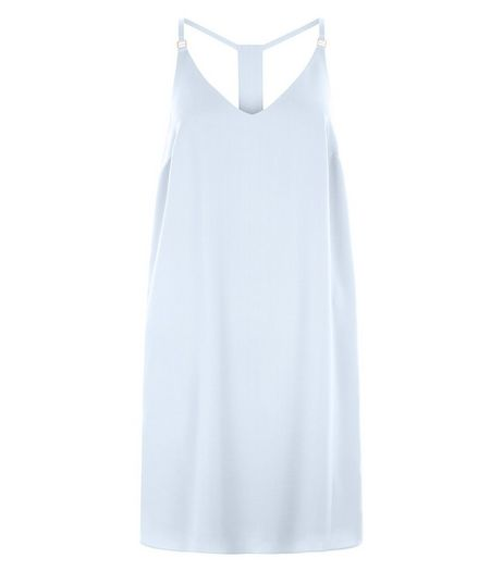Pale Blue Cami Slip Dress  | New Look