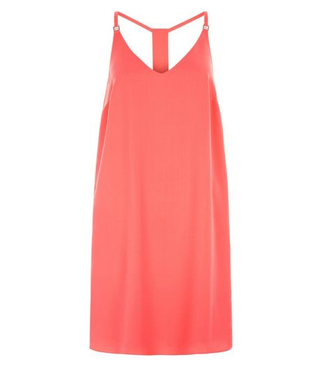 Mid Pink Cami Slip Dress  | New Look