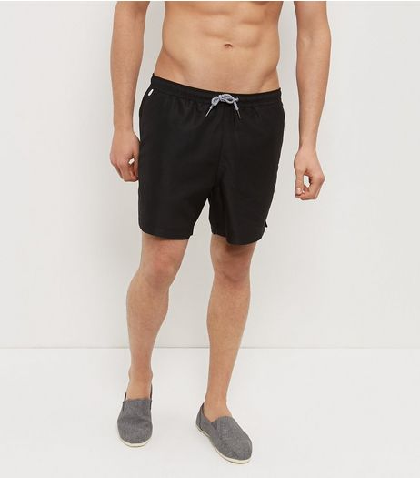 Black Swim Shorts  | New Look
