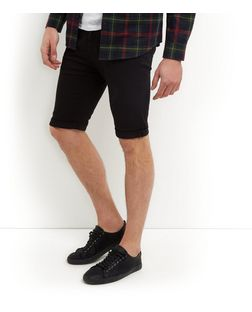 Mens black skinny jean shorts – Global fashion jeans collection