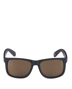 Black Contrast Sunglasses  | New Look