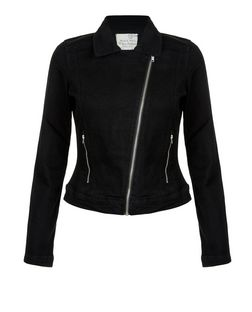 Brave Soul Black Zip Pocket Jacket | New Look