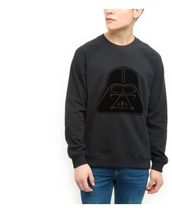 Black Darth Vader Sweater | New Look