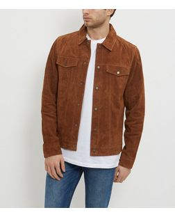 Camel Suede Western Jacket | New Look