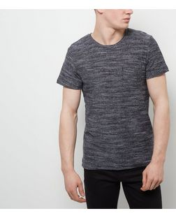 Jack and Jones Premium Black Textured T-Shirt | New Look