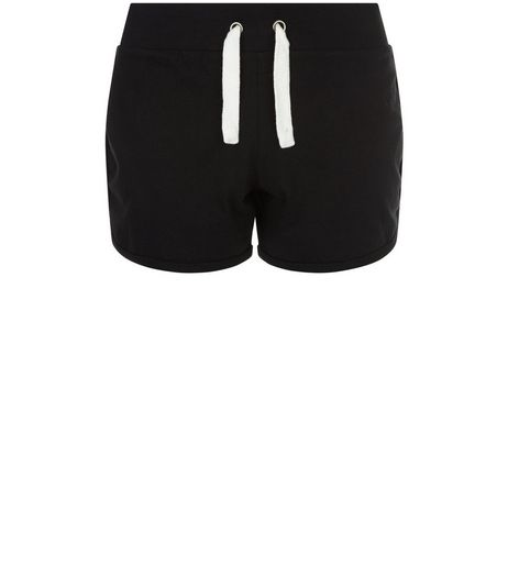 Teens Black Jersey Shorts | New Look