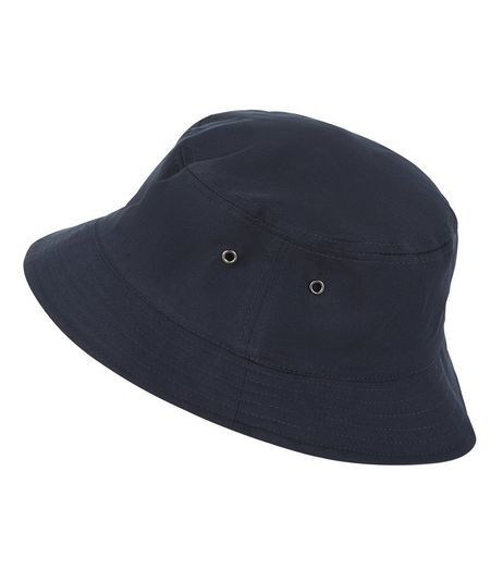 Navy Bucket Hat  | New Look
