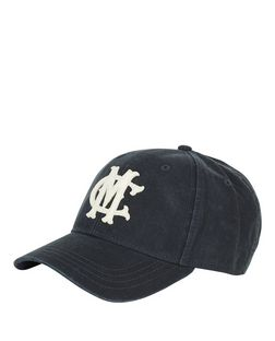 Navy MC Canvas Cap  | New Look