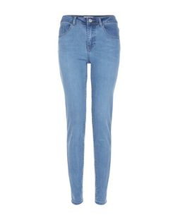 Tall 36in Pale Blue Skinny Jeans  | New Look