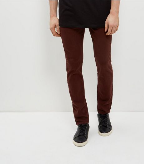 Rust Skinny Trousers  | New Look