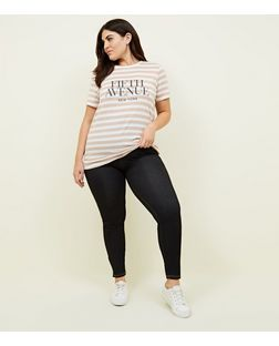 Plus Size Black High Waisted Jeggings | New Look