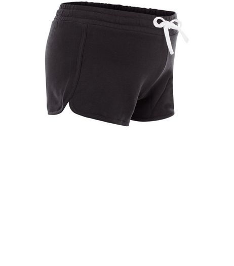 Maternity Black Under Bump Shorts | New Look