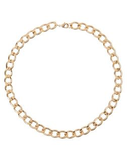 Gold Chunky Chain Necklace | New Look