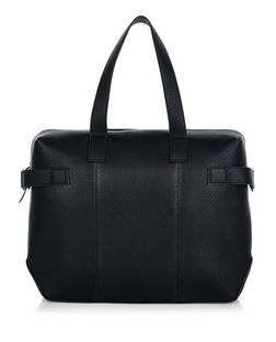 Black Bowler Bag  | New Look