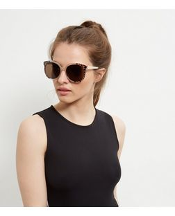 Mink Animal Print Sunglasses | New Look