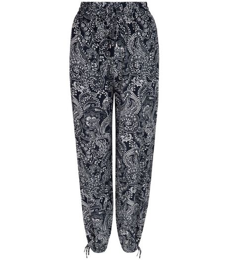 Blue Paisley Print Trousers | New Look