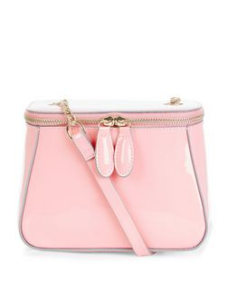 Pink Mini Vanity Bag  | New Look
