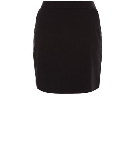 Teens Black Woven Mini Skirt | New Look