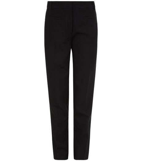 Girls Black Bistretch Trousers | New Look