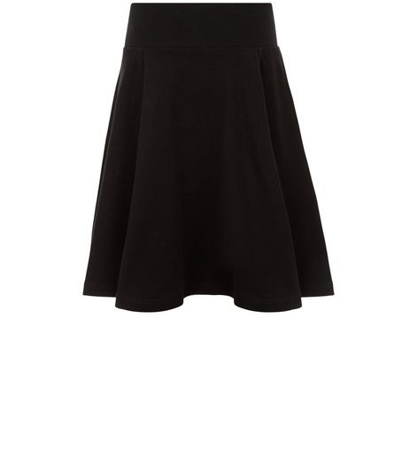 Girls Black Skater Skirt | New Look