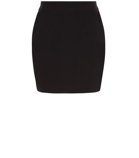 Girls Black Woven Tube Skirt | New Look