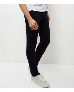 Navy Skinny Chinos | New Look