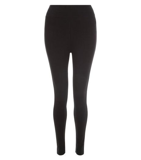 Teens Black High Waisted Leggings | New Look