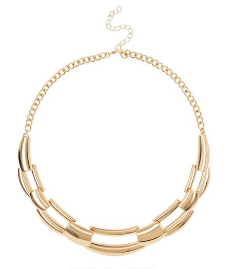 Gold Chain Link Necklace  | New Look