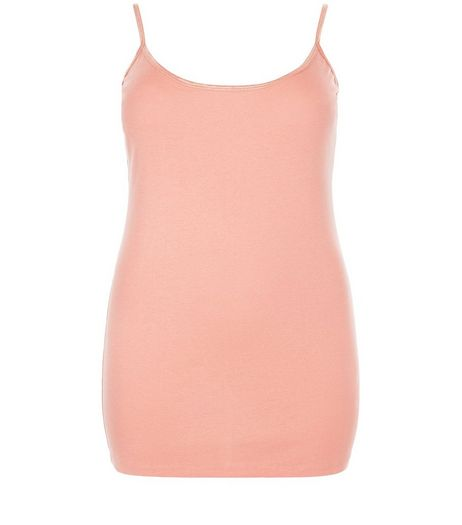 Curves Coral Vest | New Look