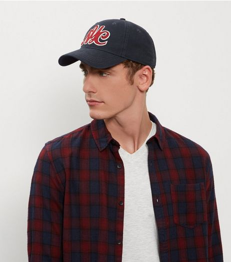 Navy NYC Baseball Cap | New Look