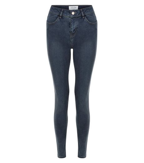 Blue Super Skinny Jeans  | New Look