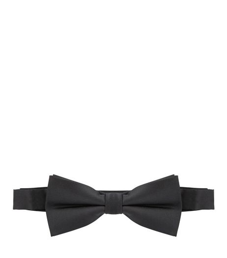 Black Bow Tie  | New Look