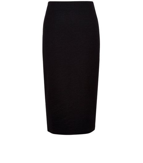 Tall Black Pencil Skirt | New Look
