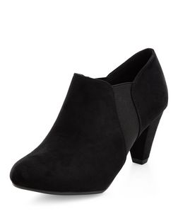 Teens Black Chelsea Shoe Boots | New Look