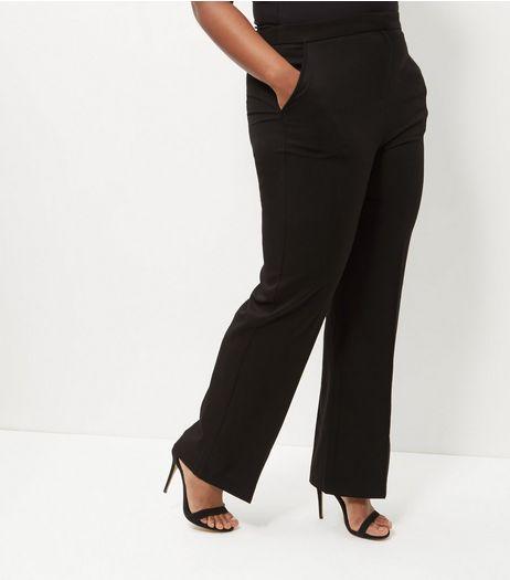 New Look Petite tie waist trousers in black. £ New Look Petite tie waist trousers in brown. £ Miss Selfridge slinky wide leg trouser in green. £ Scarlet Rocks velvet wide leg trouser co-ord in plum. £ PrettyLittleThing pleated velvet wide leg trouser in red. £
