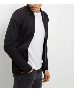 Jack and Jones Black Collared Jacket | New Look