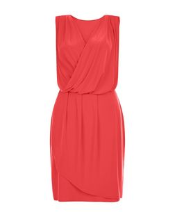Anita and Green Coral Wrap Sleeveless Dress | New Look
