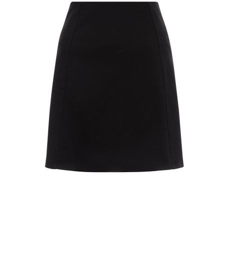 Black A-Line Skirt | New Look