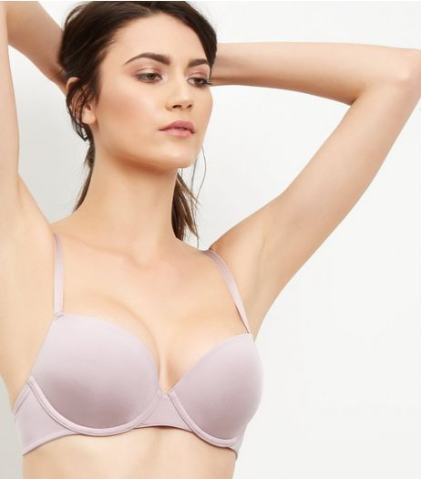 Mink Microfibre T-Shirt Bra | New Look