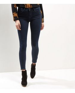 Blue Superskinny Supersoft Jeans | New Look
