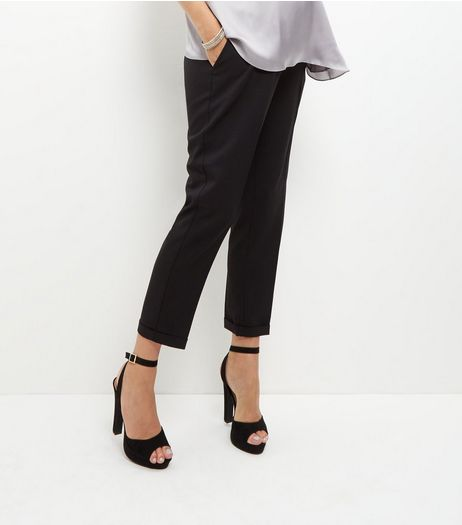 Maternity Black Over Bump Trousers | New Look